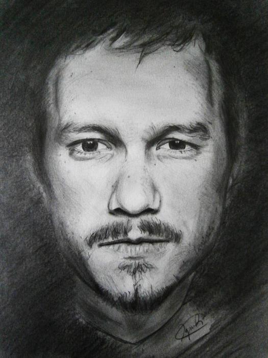 Heath Ledger by IgnacioR